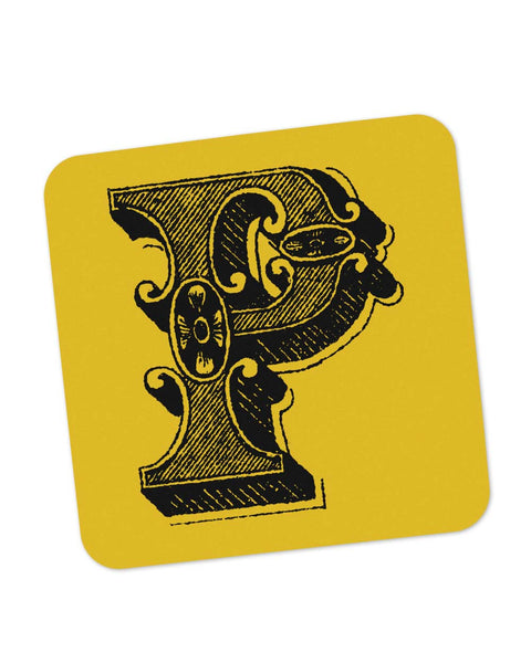 Coasters | Alphabet P Coaster 1013558329 Online India | PosterGuy.in