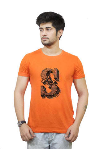 Buy Funny T-Shirts Online India | Alphabet S T-Shirt Funky, Cool, T-Shirts | PosterGuy.in