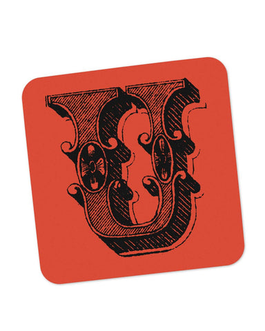 Coasters | Alphabet U Coaster 1013608329 Online India | PosterGuy.in