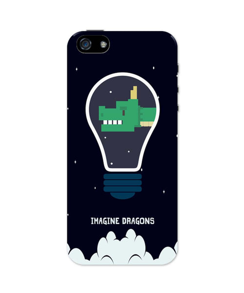 iPhone 5 / 5S Cases| Imagine Dragons Inspired Minimal iPhone 5 / 5S Case 1013667317 Online India