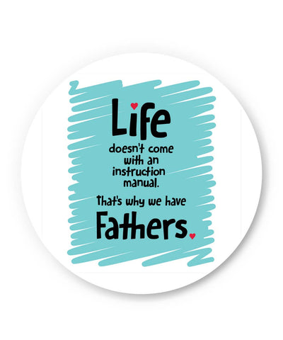 PosterGuy | Instructions Manual | Life | Father's Day Fridge Magnet 1013678219 Online India