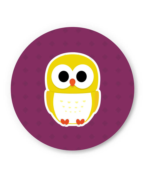 PosterGuy | Cute Quirky Owl Fridge Magnet 1013718319 Online India
