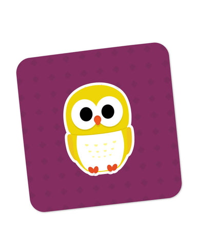 Coasters | Cute Quirky Owl Coaster 1013718329 Online India | PosterGuy.in