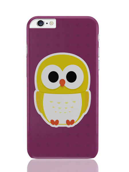 iPhone 6 Plus / 6S Plus Covers & Cases | Cute Quirky Owl iPhone 6 Plus / 6S Plus Covers and Cases Online India