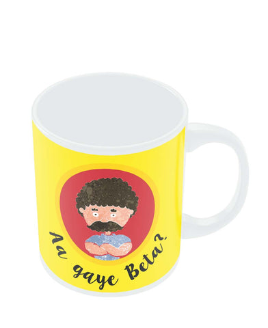 Mugs | Aa Gaye Beta? | Father's Day Mug Online India