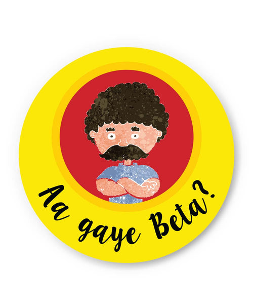 PosterGuy | Aa Gaye Beta? | Father's Day Fridge Magnet 1013728219 Online India