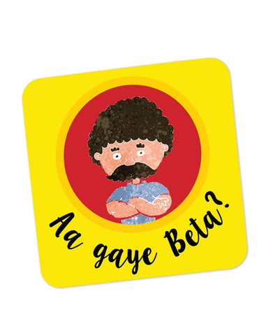 Coasters | Aa Gaye Beta? | Father's Day Coaster 1013728229 Online India | PosterGuy.in
