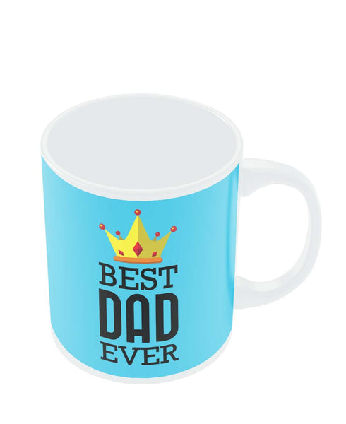 Mugs | Best Dad Ever King's Crown | Father's Day Mug Online India