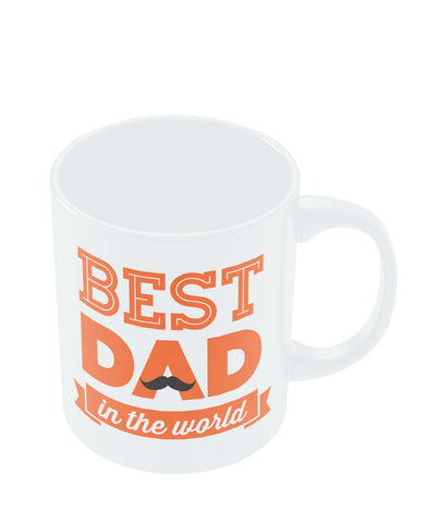 Mugs | Best Dad In The World Quote | Father's Day Mug Online India