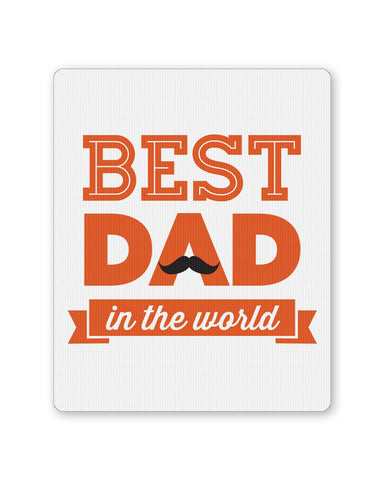 PosterGuy | Best Dad In The World Quote | Father's Day Mouse Pad 1013748216 Online India
