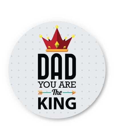 PosterGuy | Dad You Are The King | Father's Day Fridge Magnet 1013778219 Online India