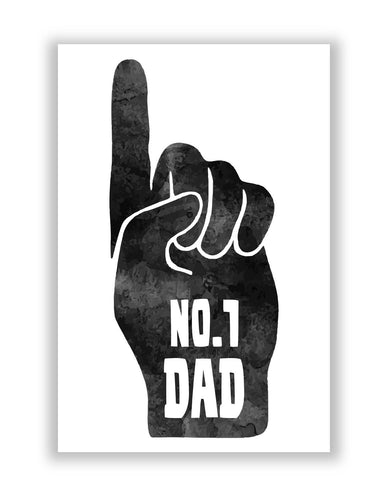 Posters | No.1 Dad | Father's Day Poster Online India