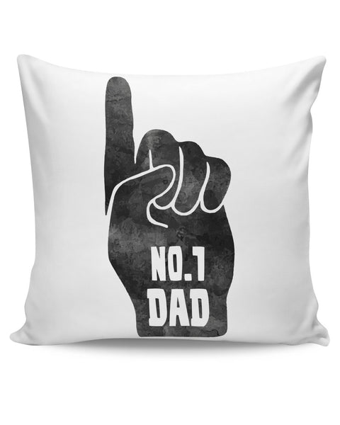 PosterGuy | No.1 Dad Father's Day Cushion Cover Online India