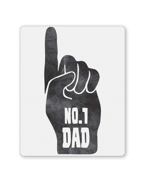 PosterGuy | No.1 Dad | Father's Day Mouse Pad 1013818216 Online India