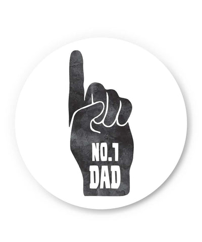 PosterGuy | No.1 Dad | Father's Day Fridge Magnet 1013818219 Online India