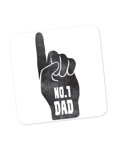 Coasters | No.1 Dad | Father's Day Coaster 1013818229 Online India | PosterGuy.in