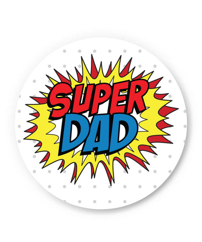 PosterGuy | Super Dad My Superhero | Father's Day Fridge Magnet 1013828219 Online India