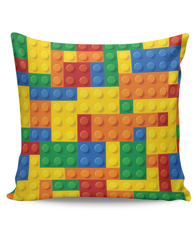 PosterGuy | Building Blocks Quirky Cushion Cover Online India