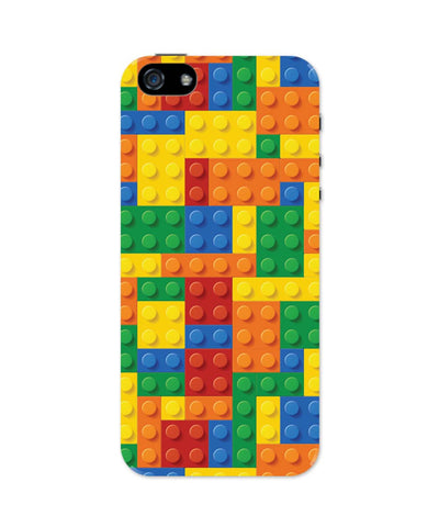 iPhone 5 / 5S Cases| Building Blocks Quirky iPhone 5 / 5S Case 1013858317 Online India