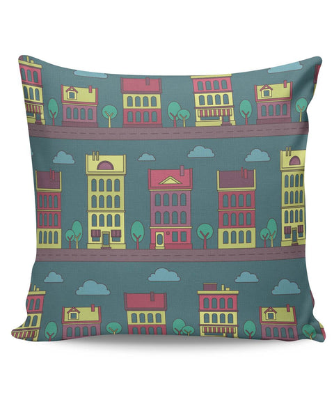 PosterGuy | Midnight City Lights Cushion Cover Online India