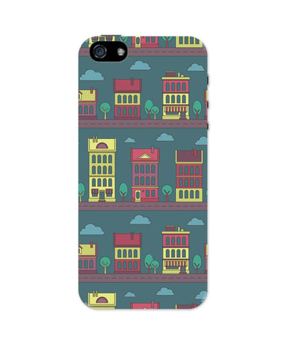 iPhone 5 / 5S Cases| Midnight City Lights iPhone 5 / 5S Case 1013868317 Online India