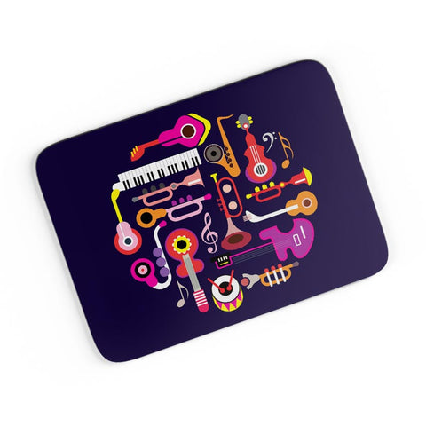 Music Flat Abstract Art A4 Mousepad Online India