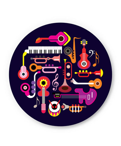 PosterGuy | Music Flat Abstract Art Fridge Magnet 1013878319 Online India