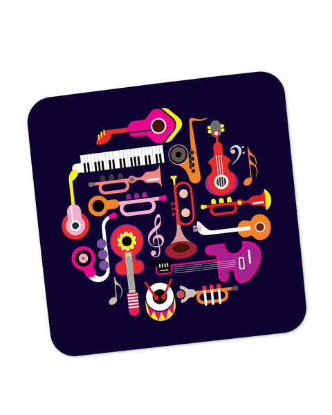 Coasters | Music Flat Abstract Art Coaster 1013878329 Online India | PosterGuy.in