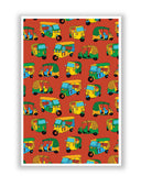 Posters | Auto Rickshaw Quirky Pattern Poster Online India