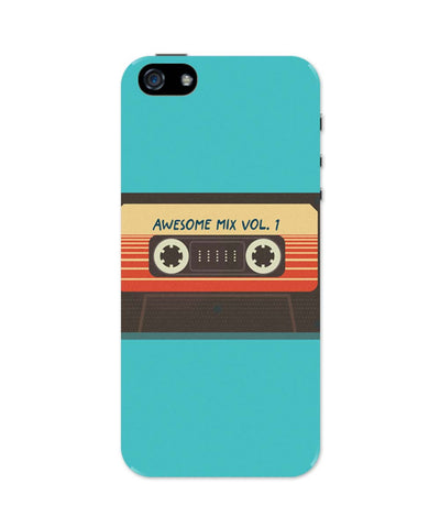 iPhone 5 / 5S Cases| Guardians Of The Galaxy Awesome Mixtape iPhone 5 / 5S Case Online India