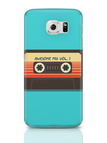 Samsung Galaxy S6 Covers & Cases | Guardians Of The Galaxy Awesome Mixtape Samsung Galaxy S6 Covers & Cases Online India