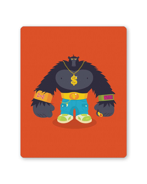 PosterGuy | Hip Hop Gorilla Mouse Pad 1014078316 Online India