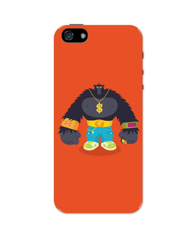 iPhone 5 / 5S Cases| Hip Hop Gorilla iPhone 5 / 5S Case Online India