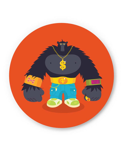 PosterGuy | Hip Hop Gorilla Fridge Magnet 1014078319 Online India