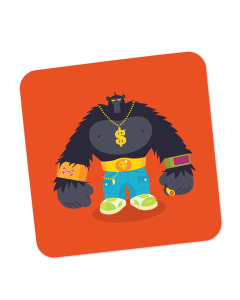 Coasters | Hip Hop Gorilla Coaster 1014078329 Online India | PosterGuy.in