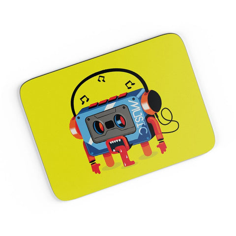 Music Lick | Quirky Audiotape A4 Mousepad Online India