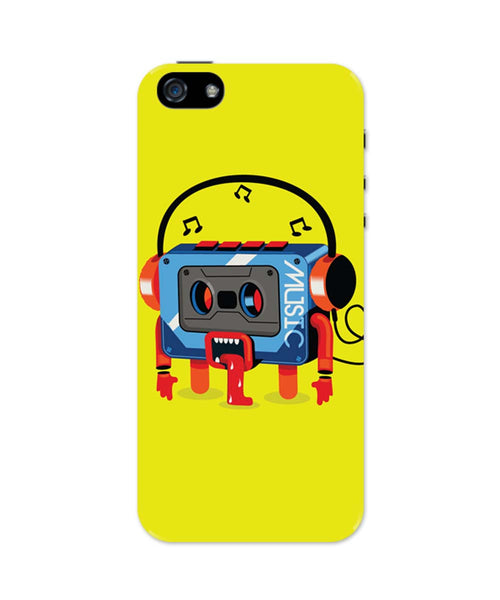 iPhone 5 / 5S Cases| Music Lick | Quirky Audiotape iPhone 5 / 5S Case Online India