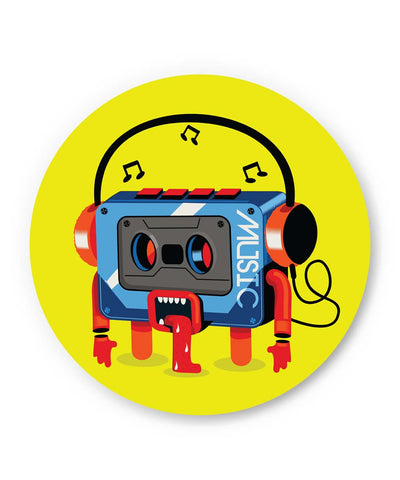 PosterGuy | Music Lick | Quirky Audiotape Fridge Magnet 1014117319 Online India