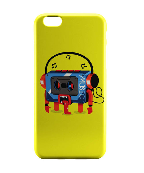 iPhone 6 Case & iPhone 6S Case | Music Lick | Quirky Audiotape iPhone 6 | iPhone 6S Case Online India | PosterGuy