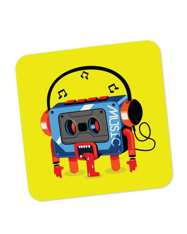 Coasters | Music Lick | Quirky Audiotape Coaster 1014117329 Online India | PosterGuy.in