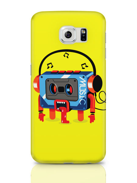 Samsung Galaxy S6 Covers & Cases | Music Lick | Quirky Audiotape Samsung Galaxy S6 Covers & Cases Online India