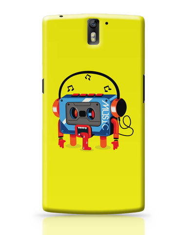 OnePlus One Covers | Music Lick | Quirky Audiotape OnePlus One Covers Online India