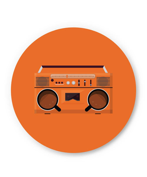 PosterGuy | Coffee Boom Box Fridge Magnet 1014128319 Online India