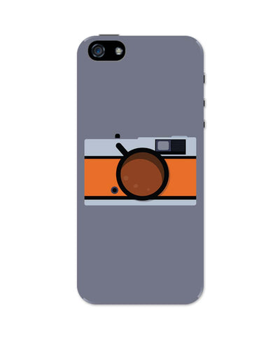 iPhone 5 / 5S Cases| Coffee Camera Art iPhone 5 / 5S Case Online India
