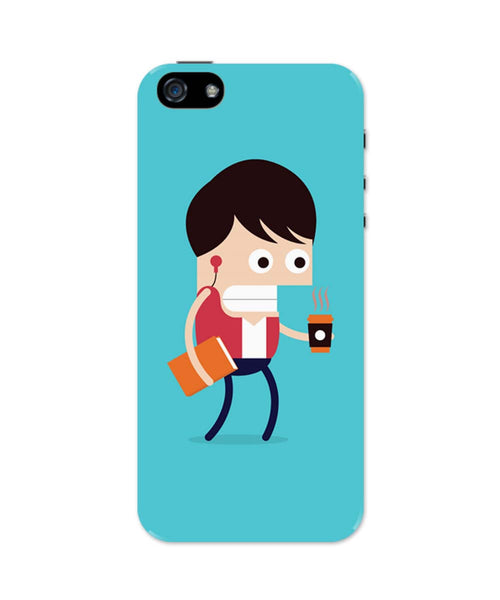 iPhone 5 / 5S Cases| Getting Late Coffee In Hand iPhone 5 / 5S Case Online India