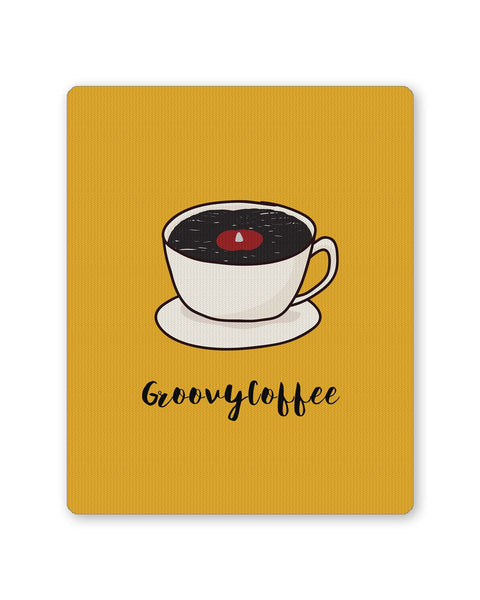 PosterGuy | Groovy Coffee Illustration Mouse Pad 1014178316 Online India