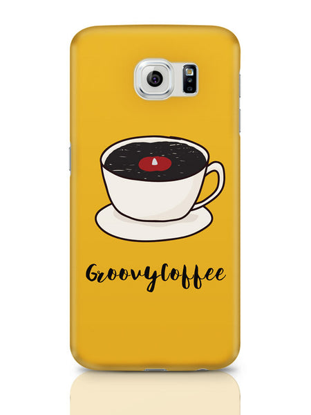 Samsung Galaxy S6 Covers & Cases | Groovy Coffee Illustration Samsung Galaxy S6 Covers & Cases Online India
