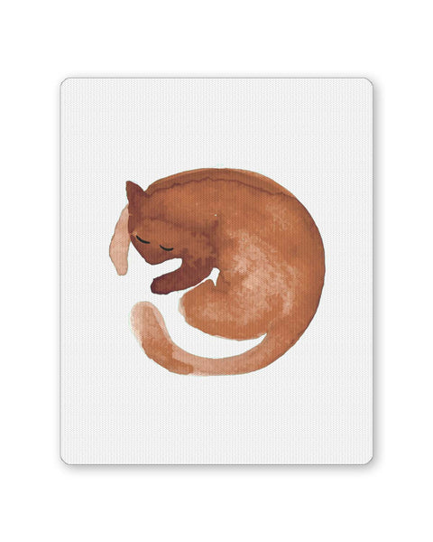 PosterGuy | Coffee Stain Cat Mouse Pad 1014188316 Online India