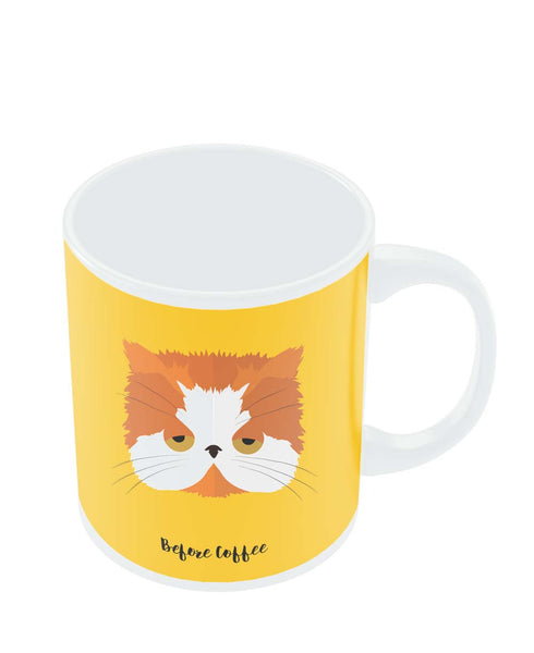 Mugs | Before and After Coffee Cat Mug Online India