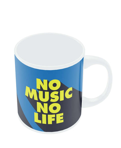 Mugs | No Music No Life Mug Online India